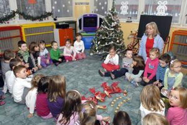 Deti z MŠ na Šafárikovej 4 majú v otázke Vianoc jasno.