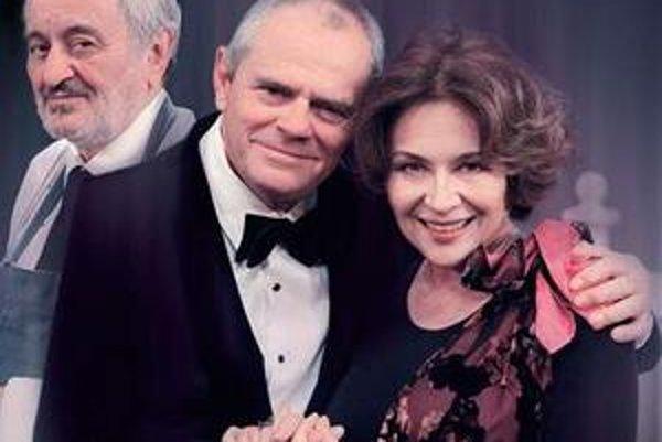 Brilantná konverzačka. Spojila troch excelentných hercov – Vášáryovú, Kňažka a Lasicu.
