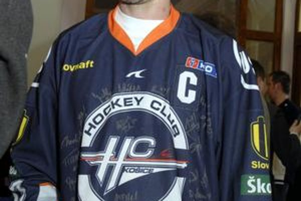 Kapitán HC Peter Bartoš s Košicami predĺžil zmluvu.