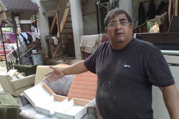 Rodine Milana Baloga zničila voda z Ružína všetko.