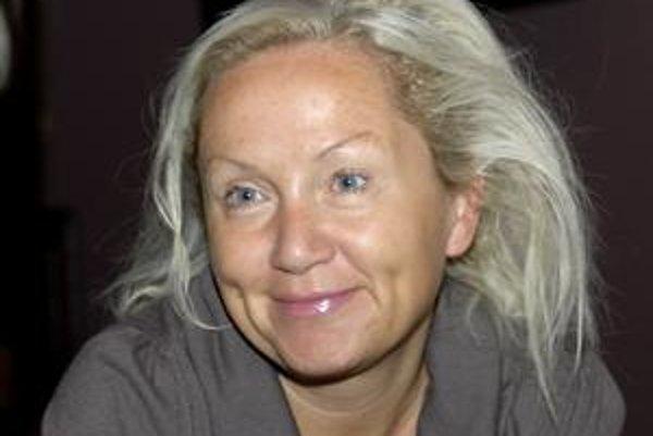 Česká speváčka a herečka Bára Basiková.