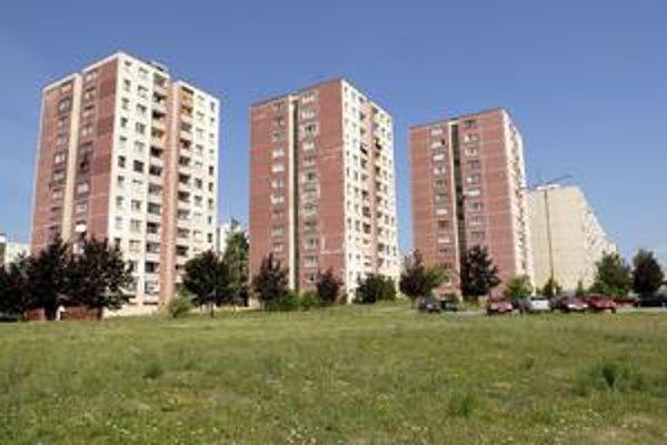 Oddychová zóna. Na voľnom priestranstve na Moskovskej by sa mal vybudovať centrálny park.
