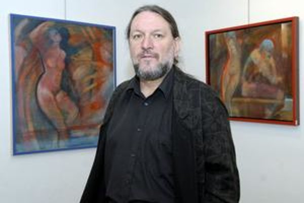 Obdivovateľ ženskej krásy. Výtvarník Pavol Kvoriak ponúka tentoraz akty z posledného obdobia.