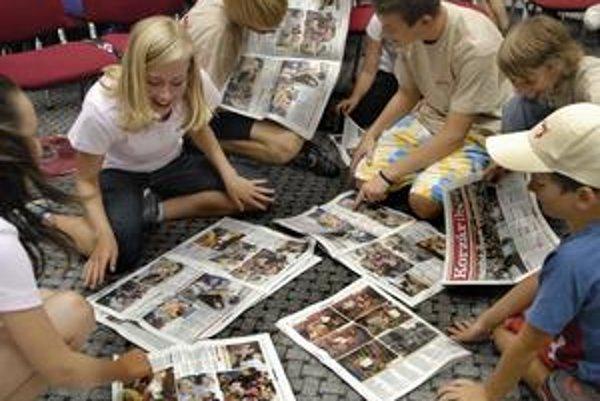 Nadšenie z Korzárika. Vidieť sa v novinách nemáte možnosť každý deň.