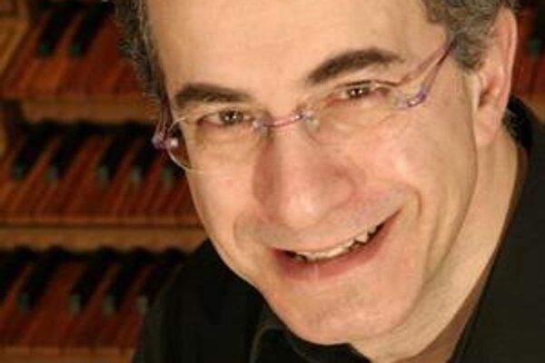 Naji Hakim patrí k európskej špičke v hre na organe.