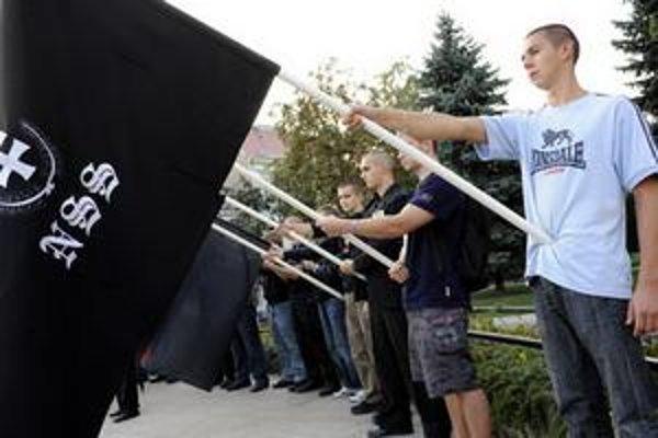 Slovenská pospolitosť zorganizovala pochod Košicami, na ktorom protestovala proti súčasnej vláde.