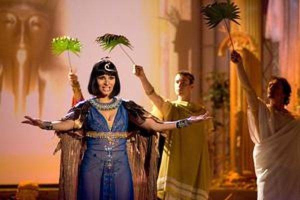Muzikál Kleopatra. Videli ho desiatky tisíc divákov v zahraničí, teraz sa naň môžu tešiť aj Košičania.