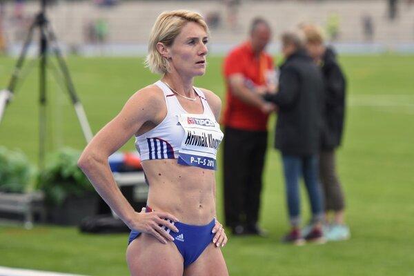 Lucia Hrivnák Klocová skončila vo finálovom behu na 1 500 m na 10. mieste.
