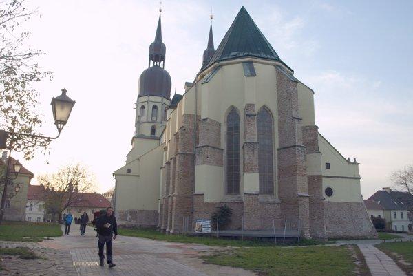 Hrubý kostol v Trnave.