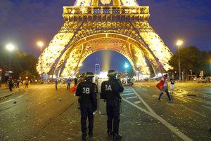 Polícia mala aj vo finálový deň plné ruky práce.