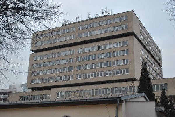 Prešovská nemocnica. Má už len 87 voľných miest pre sestry.