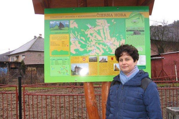 Starostka obce Brežany Mária Gumanová hovorí, že budúcnosť obce vidia predovšetkým v turistickom ruchu.