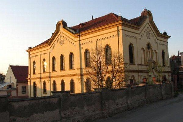 Ortodoxná synagóga v Prešove.