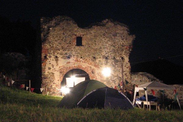 Stanovačka počas festivalu na hrade je tiež výnimočná.
