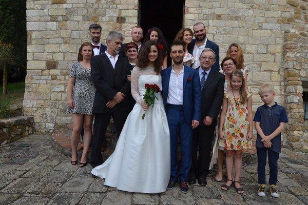 Prominentná svadba. Ženil sa Miro Tásler.