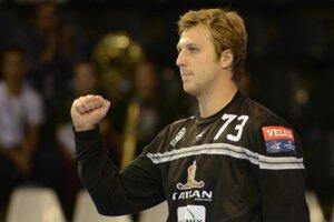 Igor Čupryna bol v bráne v pondelkovom zápase SEHA ligy veľkou oporou Tatrana.