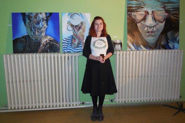 Moderné umenie. Mladí tvorcovia predstavili svoje diela.