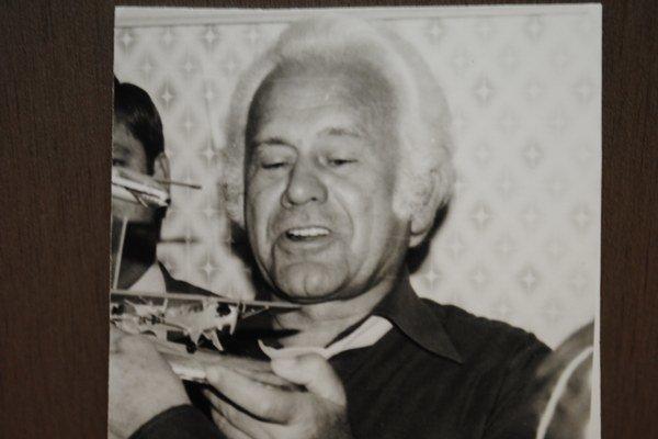 Jubilant Imrich Majoroš.