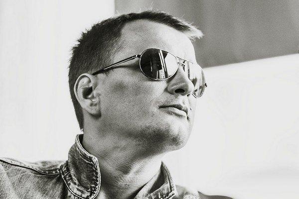 Ján Štovka na autoportréte.