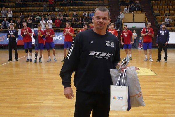 Radoslav Antl. Už na začiatku roka má dobrú formu.