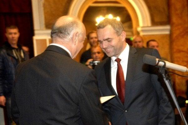 René Pucher (vpravo).