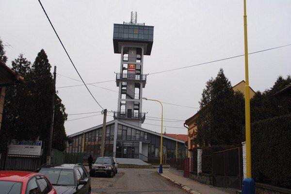 Vodárenská veža. Patrí k novým zapísaným pamätihodnostiam.