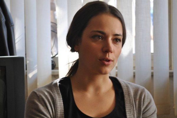 Gabika Marcinková aktuálne hosťuje v prešovskom divadle.