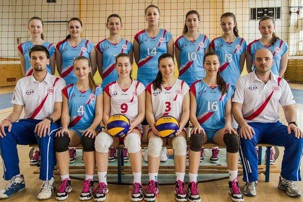 VK ELBA Prešov. Volejbalistky majú na dosah najvyššiu súťaž.