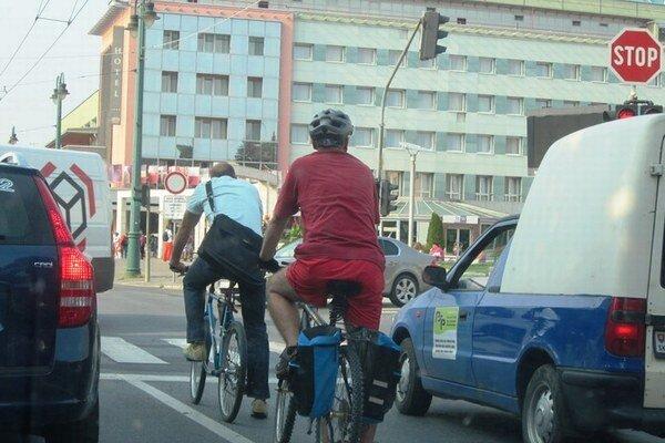 Do práce na bicykli. Vlani sa do súťaže zapojilo 82 ľudí.