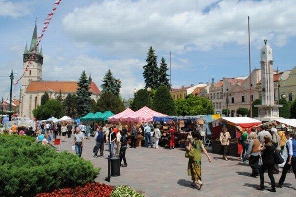 Počet turistov v Prešove klesol.