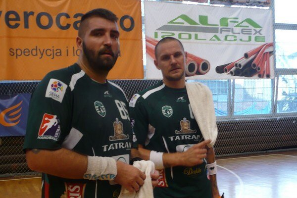Návrat. Mišo Kopčo (vpravo) si zahrá proti tímu, v ktorom pôsobil dve sezóny.