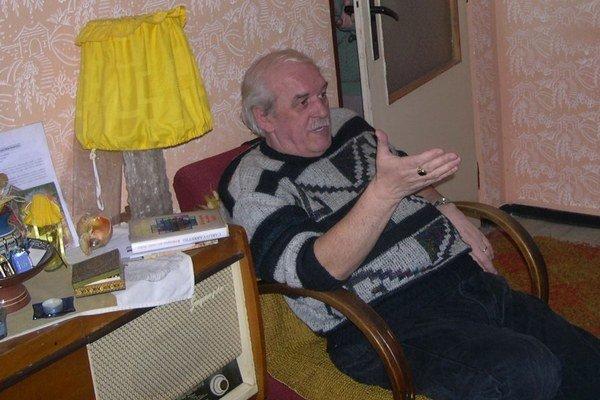 Anton Oriňák. V súkromí bol veselá kopa.