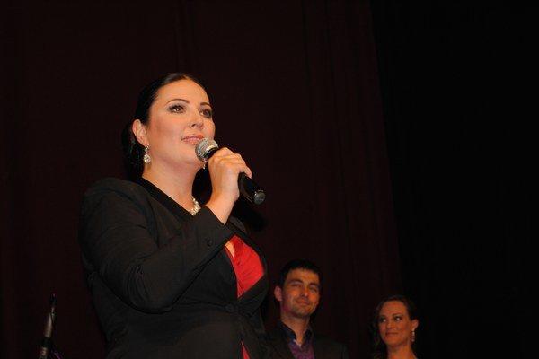 Ivana Christová privíta hostí v Prešove.