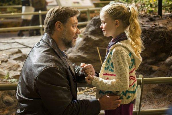 Film Otcovia a dcéry je viac o dcérach ako o otcoch.