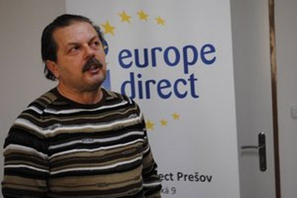 Ladislav Babuščák. Šéf Europe Direct Centre v Prešove.