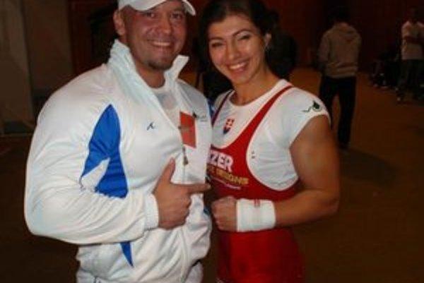 Úspešná dvojica. Manželia Namešpetrovci po zisku svetového prvenstva.