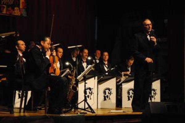 Ondřej Havelka s parťákmi z Melody Makers nadchol obecenstvo.