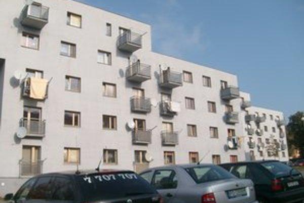 Sabinovská ulica. Tu boli odovzdané posledné nájomné byty v roku 2007.