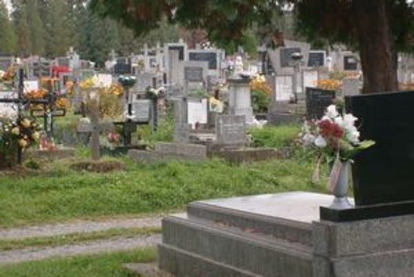 Súčasný cintorín v Solivare. V prvej etape sa rozšíri a vznikne 2 640 hrobových miest.