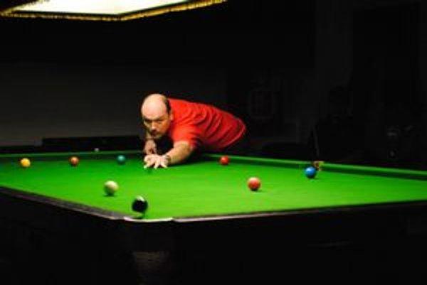 Milan Mrva. Víťaz Lineas Snooker Masters 2012.