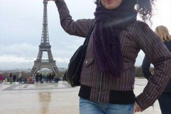 Beáta Ksenzsighová  (25). Do Paríža sa dostala len za desať eur.