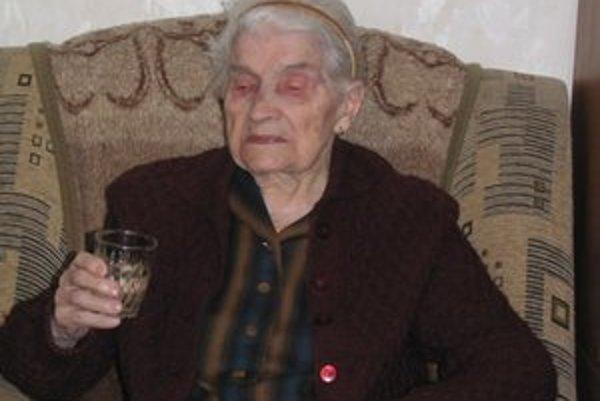 Gitka Mareková v januári slávila 101. narodeniny.