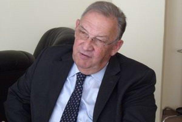 Walter Lion. Veľvyslanec Belgicka po prvý raz navštívil Prešov.