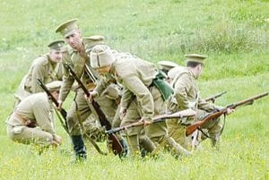 Na bojovom poli sa stretli rakúsko-uhorskí a ruskí vojaci.