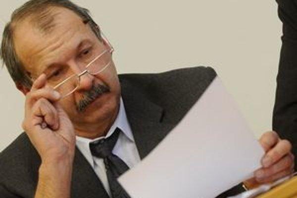 Šéf Lekárskeho odborového združenia v prešovskej nemocnici Michal Polician.
