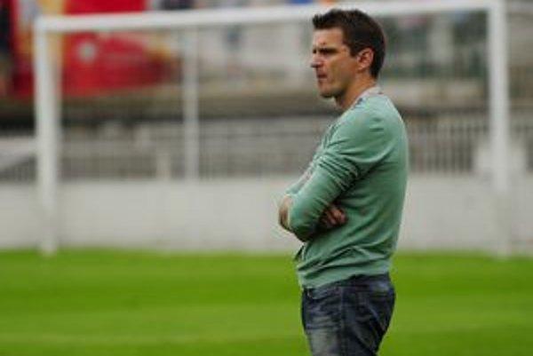 Tréner Prešova Štefan Tarkovič. Verí, že už dnes výhrou potešia fanúšikov.