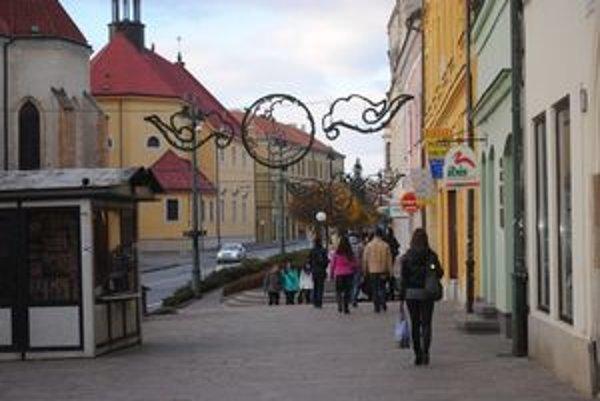 Centrum Prešova. Najčastejšie žiadanou požiadavkou je hodinová prehliadka centra.