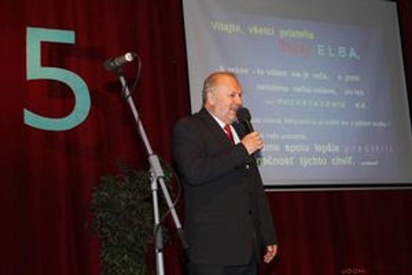Emil Blicha, riaditeľ gymnázia.