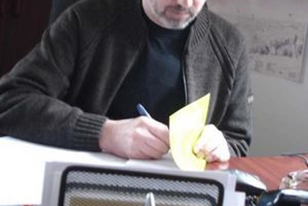 Vladimír Harajda, hlavný kontrolór Bardejova.