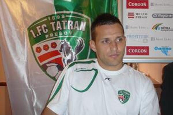 Ján Papaj. Kapitán Tatrana je prehrou v Čermeli veľmi sklamaný.